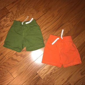 Crazy 8 toddler boy shorts size 12-18